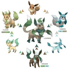 Inane Talent: Another round of Eeveelution fusions feat. Eevee