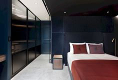 The black white and blue residence c.l. by w&li design interior