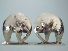 Elephant Bookends by Hagenauer