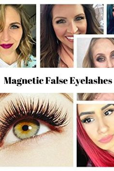 6821e2bc975 These Magnetic False Eyelashes are Glue Free, and take just seconds to  apply.