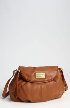 MARC BY MARC JACOBS 'Classic Q - Natasha' Crossbody Flap Bag Cinnamon Stick in November 2012 Parties and Presents from Nordstrom on shop.CatalogSpree.com, my personal digital mall.