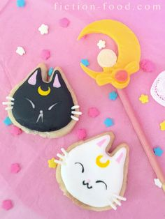Sailor Moon Cookies! (If you don't remember this show, then you too young bro)