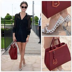 Love Fendi's 2jour bag in burgundy