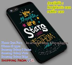 The Fault in Our Stars Art Quote iPhone 6s 6 6s  5c 5s Cases Samsung Galaxy s5 s6 Edge  NOTE 5 4 3 #movie #TheFaultInOurStars dl5