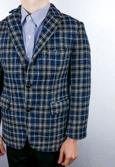 bcafb2e170c2 Vintage Harris Tweed Blazer Jacket | Thrifty Greg | ASOS Marketplace Tweed  Run, Tweed Blazer