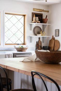 Decorating the kitchen for Fall - Seeking Lavender Lane