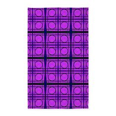 Area Rug Bright Pink Mod Circles #cafepress #rugs #decor #homedecor #trends #style
