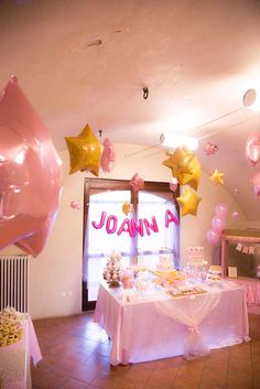 Joanna's Twinkle Twinkle Little Star Party | CatchMyParty.com