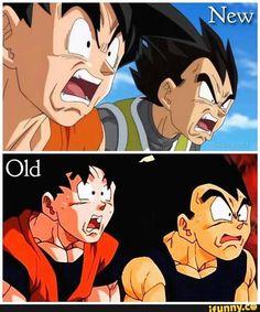 DBS Goku and Vegeta