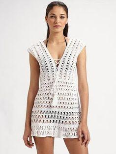 Fabulous Crochet a Little Black Crochet Dress Ideas. Georgeous Crochet a Little Black Crochet Dress Ideas. Débardeurs Au Crochet, Pull Crochet, Gilet Crochet, Mode Crochet, Crochet Woman, Crochet Blouse, Crochet Edgings, Freeform Crochet, Crochet Tops