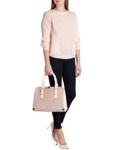 http://www.tedbaker.com SNOWIA Sporty luxe sweater      £129