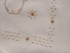 Copertine - copertina culla cotone maglia ricamata - un prodotto unico di dorazimorena su DaWanda