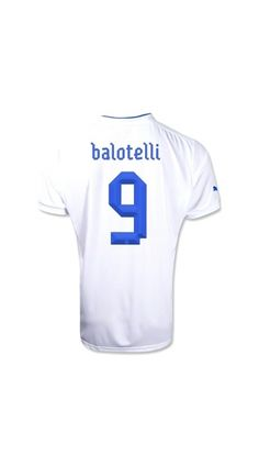 ada8b1ef7 Wholesale new Euro 2012 12 13 Italy Balotelli 9 Away Soccer Clothes