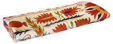 Antique Afshin Suzani Tapestry - de-cor - Brands  One Kings Lane #Suzani#Tapestry#Antique