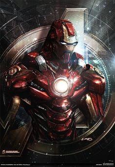 ✭ Avengers: Iron Man by John Giang