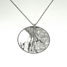 Streets Necklace Seattle design inspiration on Fab.