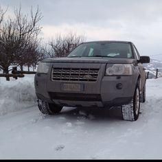 Land Rover Freelander 2 & snow!!