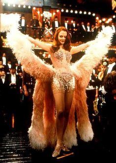 """Nicole Kidman in her """"Pink Diamonds"""" costume from Moulin Rouge!""""Moulin Rouge"""" Cafe Society Paris in the early century costumes/ Fashion Film Moulin Rouge, Le Moulin Rouge Paris, Satine Moulin Rouge, Nicole Kidman Moulin Rouge, Moulin Rouge Outfits, Showgirl Costume, Burlesque Costumes, Movie Costumes, Burlesque Movie"""