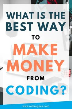 What is the best way to make money from coding and web development? Learn how you can start making money from programming as a beginner and start a career in tech with your new coding skills Learn Coding Online, Learn Computer Coding, Computer Basics, Learn Programming, Computer Programming, Programming Languages, Computer Science, Python Programming, Ways To Earn Money