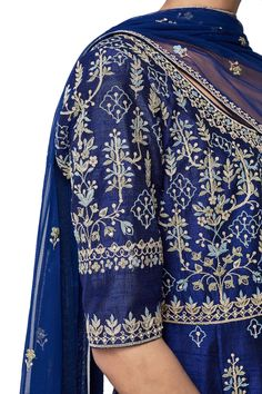 The Ravin Suit Designer Suits - Buy The Ravin Suit for Women Online - - Anita Dongre Anita Dongre, Designer Punjabi Suits, Indian Designer Wear, Indian Wedding Outfits, Indian Outfits, Wedding Dresses, Suit Fashion, Work Fashion, Silk Suit