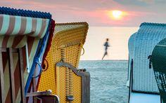 Sonnenaufgang am Strand von Usedom - Ein Grund früh aufzustehen