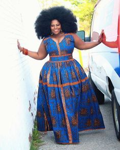 Ankara Xclusive: Beautiful African Print Styles For Plus Size and Curvy Ladies