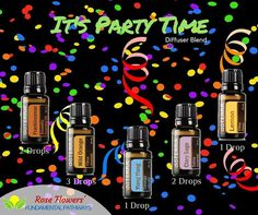Woo hoo!!! Whether you are choosing to celebrate my birthday today or the upcoming New Year this diffuser blend will help you get the party started!! Throw this blend in your diffuser and It's Party Time!! #essentialoils #diffuserblend