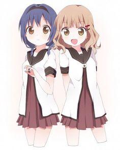 Himawari and Sakurako From yuruyuri a4a3cde9e