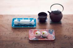 てのひら盆とお手ふきのセット/菊づくし - SOU・SOU netshop (ソウソウ) - 『新しい日本文化の創造』