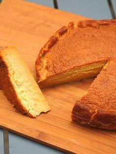 Gâteau Magique au caramel au beurre salé - marmiton