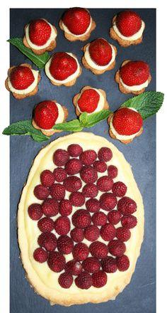 Tartes aux fraises