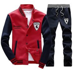 Ideas for sport men clothes Swag Outfits, Cool Outfits, Fashion Outfits, Mens Sweat Suits, Plus Size Men, Sport Man, Swagg, Menswear, Mens Fashion