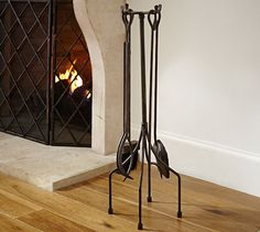 Lattice Fireplace Tool Set