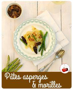 Pâtes asperges & mor