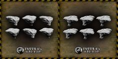 We have two new releases today, both designed for our Insectoid monsters. Insectoid Hammerheads https://puppetswar.eu/product.php?id_product=670 Mantis Heads https://puppetswar.eu/product.php?id_product=669 All Insectoid models are currently available with 10% discount.