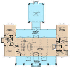 Farmhouse Style House Plan – 3 Beds 2 Baths 2050 Sq/Ft Plan – Home One Floor Design Mountain House Plans, Barn House Plans, Cottage House Plans, Craftsman House Plans, Country House Plans, New House Plans, Dream House Plans, Modern House Plans, Small House Plans