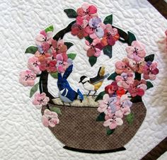 Applique Basket Quilt Block | Recent Photos The Commons Getty Collection Galleries World Map App ...