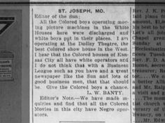 St. Joseph, Missouri News: Editor of the Sun o April 25, 1914 on page 8