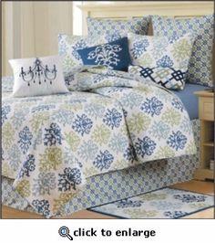 Shabby Chic Blue Bedding
