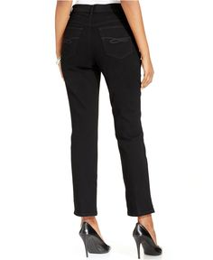 Style & Co. Tummy-Control Slim-Leg Jeans, Only at Macy's - Jeans - Women - Macy's