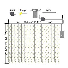 Shop 304 LED Wall Lights Curtain String lights Outdoor String Light - On Sale - . - Shop 304 LED Wall Lights Curtain String lights Outdoor String Light – On Sale – Overstock – 1 - Led Wall Lights, String Lights Outdoor, Outdoor Lighting, Cool Curtains, Hanging Curtains, Curtain Lights, Light Decorations, Wedding Decorations, Christmas Decorations