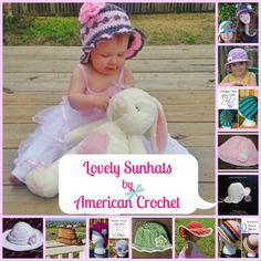 Lovely Sunhats free crochet pattern round up