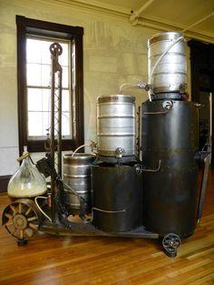 #Brewing as art... Cool brewing setup