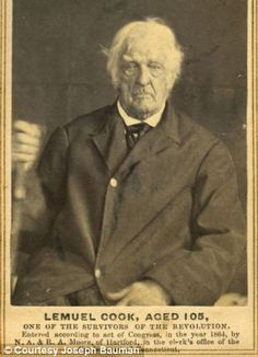 Faces of the men who won America's independence: Amazing early photos of heroes of the Revolutionary War in their old age   Read more: http://www.dailymail.co.uk/news/article-2356524/Faces-American-revolution-Amazing-early-photographs-document-heroes-War-Independence-later-years.html#ixzz2hbzs5zSQ  Follow us: @MailOnline on Twitter   DailyMail on Facebook