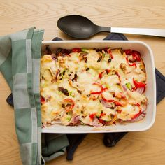 Kyllingform med soltørkede tomater Hawaiian Pizza, Vegetable Pizza, Quiche, Vegetables, Breakfast, Morning Coffee, Vegetable Recipes, Veggie Food, Quiches