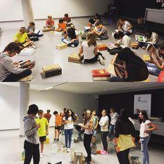 """Avui hem iniciat un club de lectura ple d'aventures amb el llibre """"Petita història de Paco Candel"""" #esparreguera #quèfemalesbiblios #joves"""