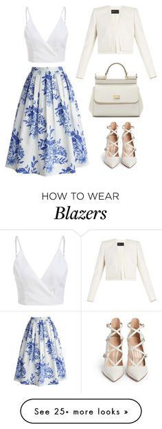"""""""Untitled #398"""" by jessica-biazi on Polyvore featuring mode, Chicwish, BCBGMAXAZRIA, Dolce&Gabbana et Gianvito Rossi"""