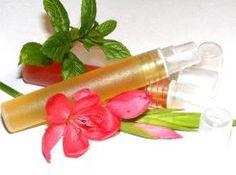 Patchouli Fragrance Botanical Perfume Oil In Atomiser Bottle