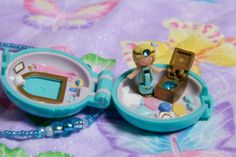 Vintage 1992 Dress Up Jewel Polly Pocket by GrungeMuffinDesigns