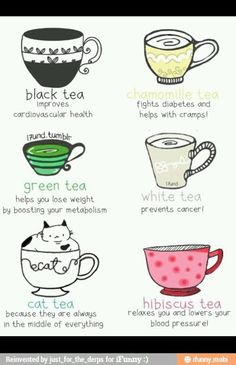 tea health benefits - not just for helping you sleep or mixing with your lemonade.
